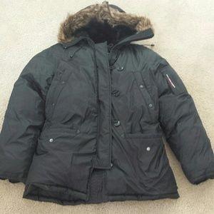 Winter down jacket polo Ralph Lauren black L women